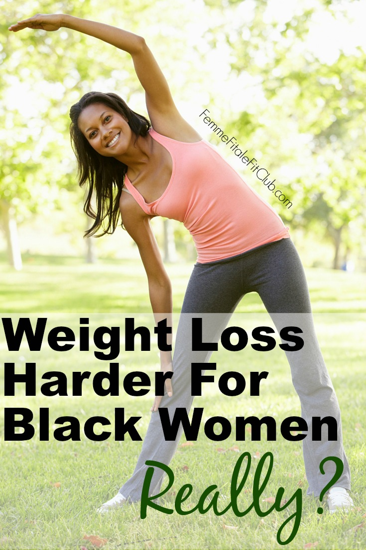 Weight Loss Harder For Black Women
