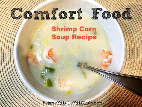 Shrimp Corn Soup Recipe #recipe #seafood