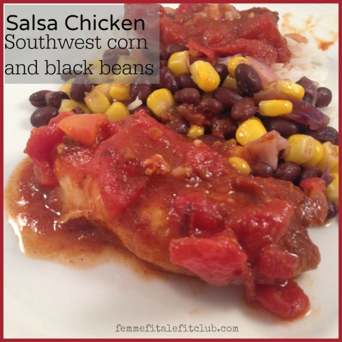 Salsa chicken recipe