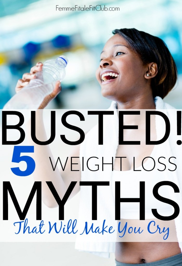 Busted! 5 Weight Loss Myths That Will Make You Cry #weightloss #weightlosstips #fatloss #weightlossjourney