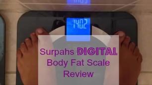 Surpahs Digital Body Fat Scale