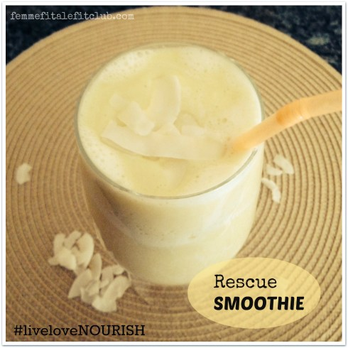Rescue Smoothie from NOURISH The Fit Woman's Cookbook
