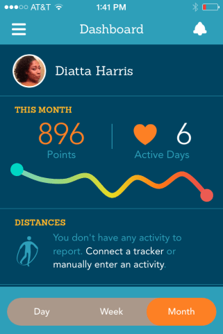 EveryMove Monthly Activity