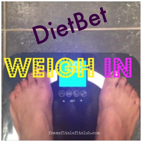 DietBet Weigh In