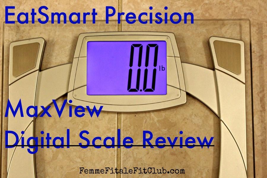 EatSmart Precision MaxView Digital Scale