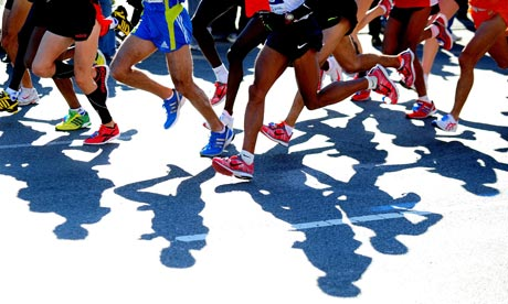 Champions On The Run - Baltimore Running Festival 2014