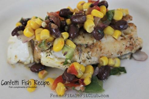 Confetti Fish Recipe