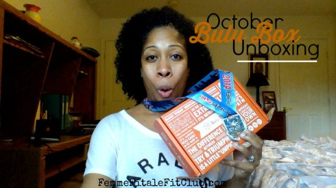 October Bulu Box Unboxing thumbnail and I ran the 5K in the Baltimore Running Festival