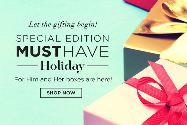 POPSUGAR Must Have Holiday Box #musthavebox #popsugar #popsugarmh