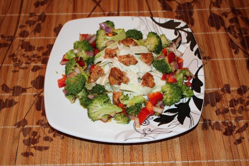 Vegan sauteed vegetables