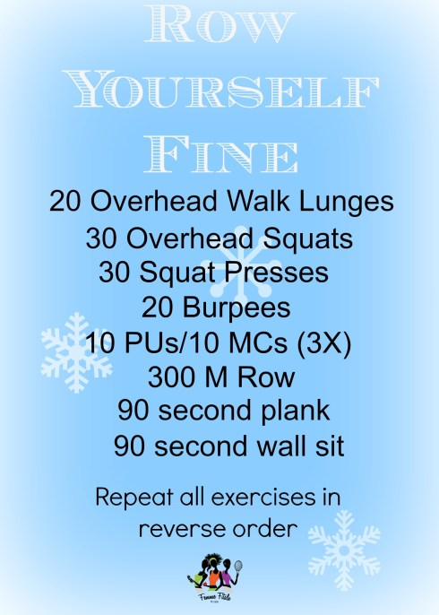 Row Yourself Fine #exercise #fitfam