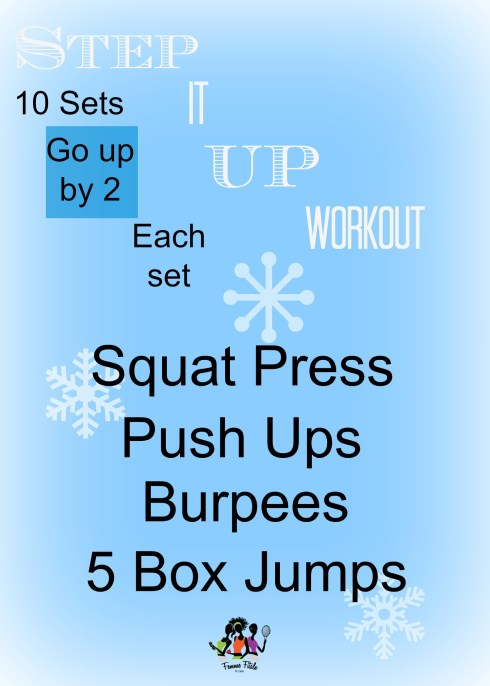 Step It Up Workout #workout #exercise