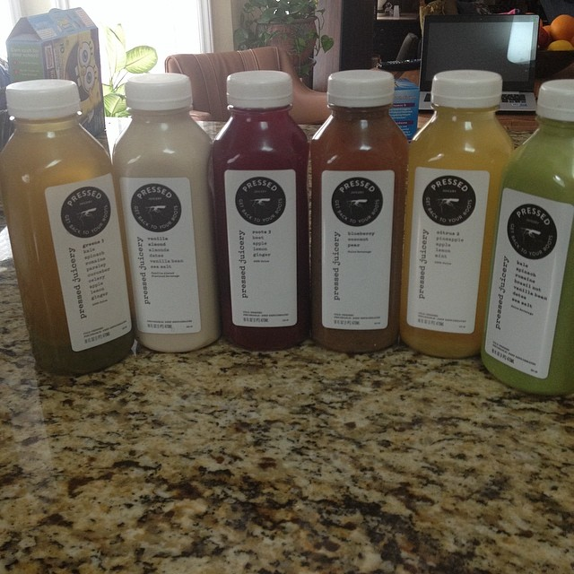 Pressed Juicery juice assortment  #pressedjuicery #juicing