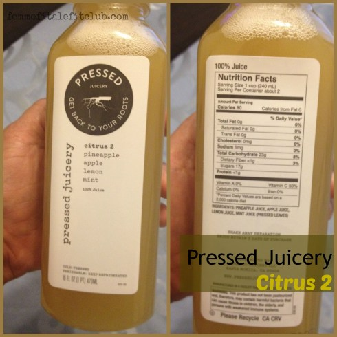 Pressed Juicery Citrus 2 #pressedjuicery