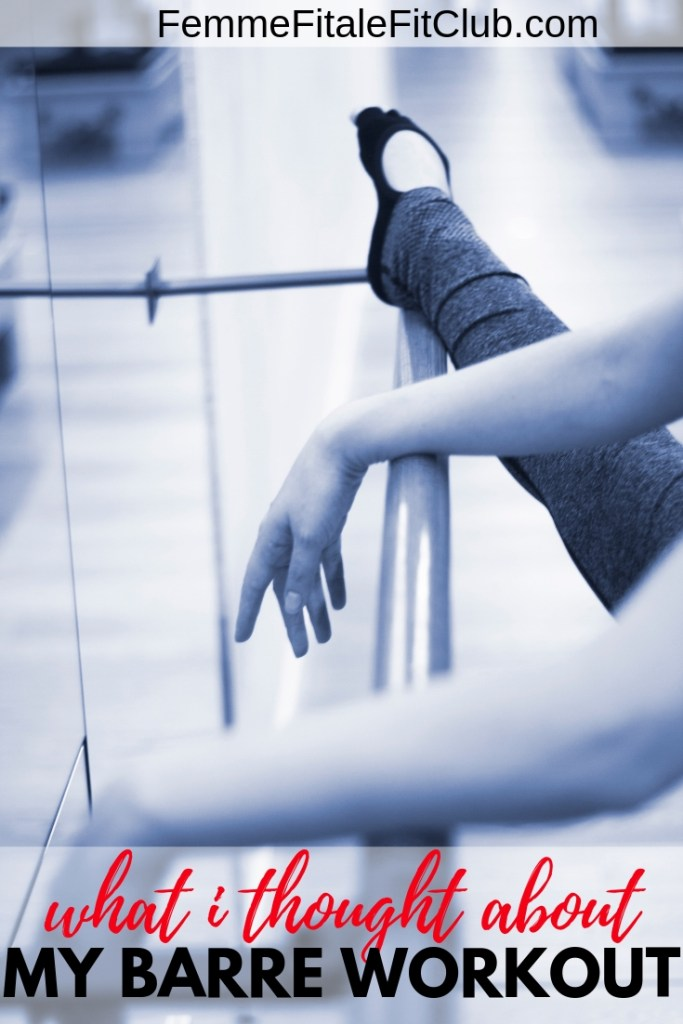 What I thought about my barre workout #barre #pilates #ballet #ballerina #barreworkout #barreworkoutforwomen #stretch #lengthenmuscles #tonemuscles #tonezone #ballerina #dance #elongate (2)