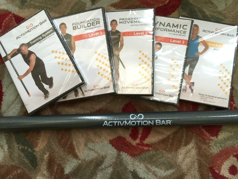 ActivMotion Bar and DVDs #activmotionbar