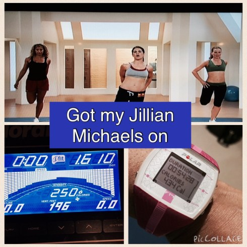 Jillian Michaels 30 Day Shred DVD Workout and Nordick Treadmill