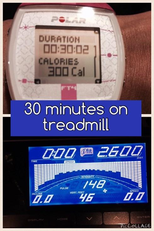 30 Minutes on NordickTrack C900 Treadmill