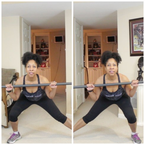 ActivMotion Bar Side Lunges #activmotionbar