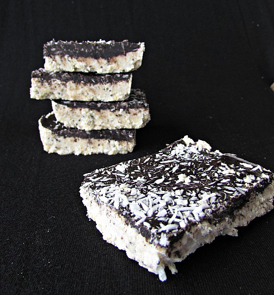 Coconut Butter Bars