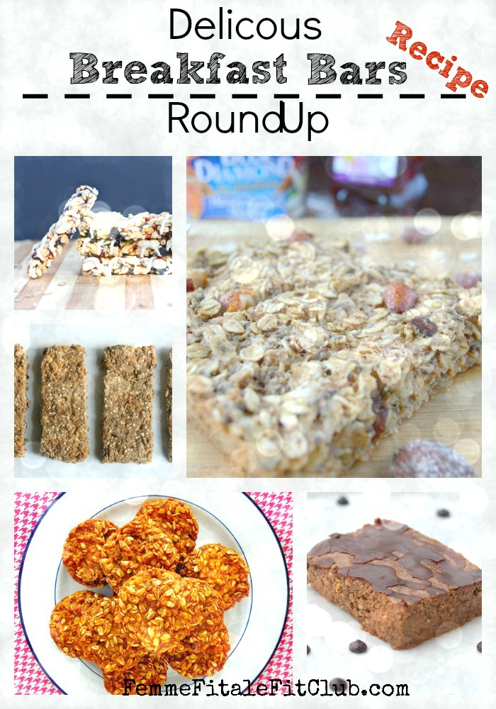 Delicious Breakfast Bars Recipe Round Up