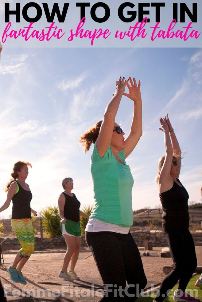 How to get in shape with Tabata #tabata #heartrate #burnfat #fatburn #calorieburn #burncalories