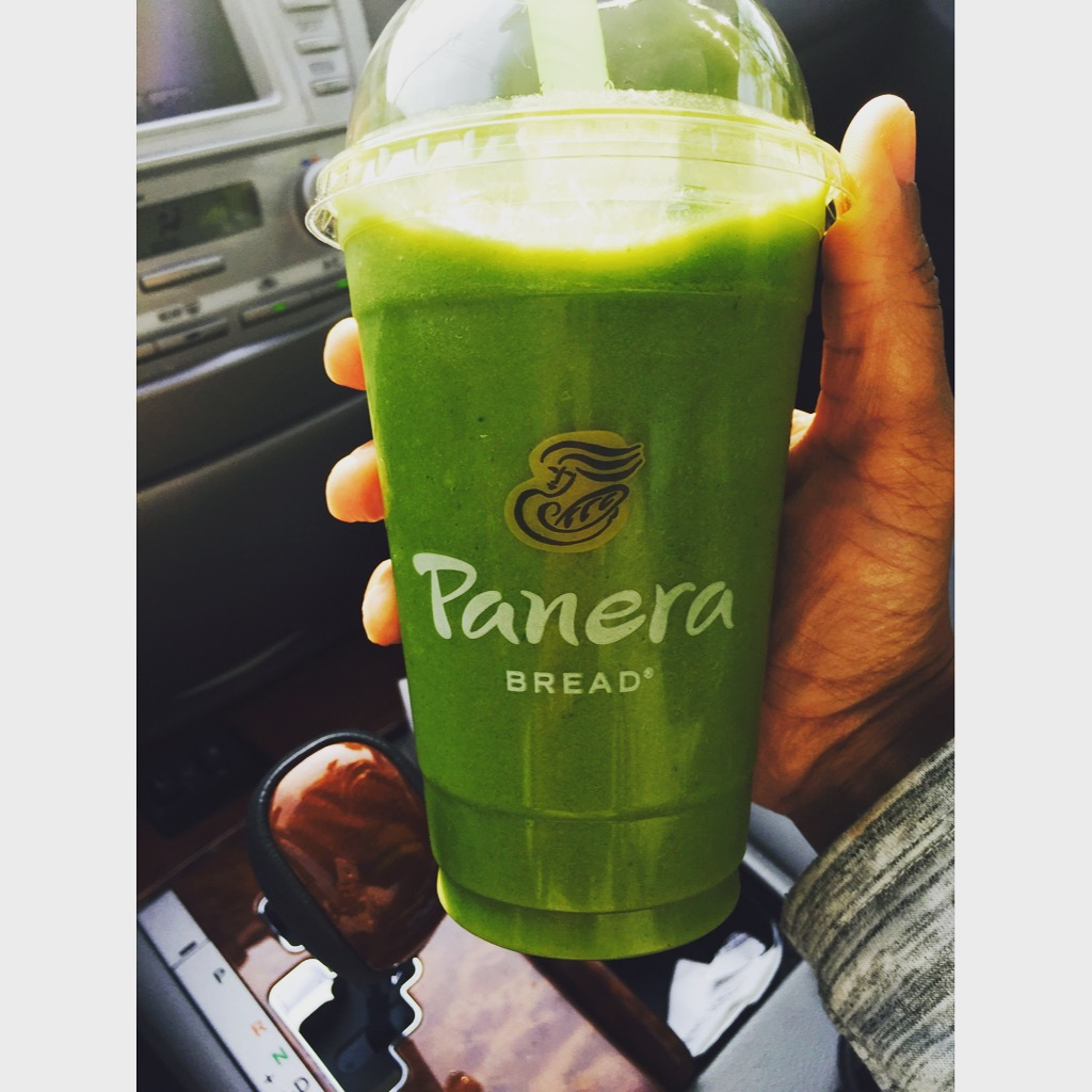 Panera Bread Green Passion Power Smoothie #smoothies #greensmoothies #simplegreensmoothies #smoothie #vegetables #fruit #fruitsmoothie