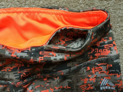 RBX Camo Capris with front pocket
