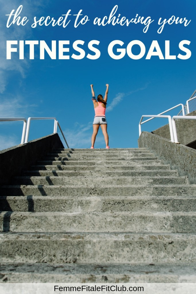 The Secret To Achieving Your Fitness Goals #fitness #workout #exercise #health #fitfam #goals #gotgoals #goaldigger #trainerize #training