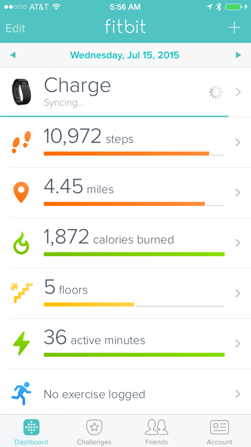 Fitbit Wednesdays stats
