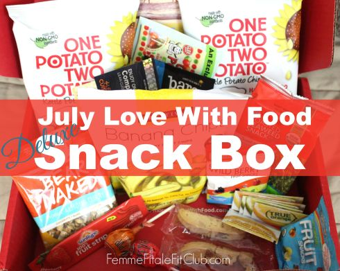 Love With Food July Deluxe Box cover