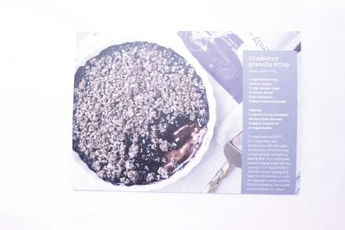 Blueberry Granola Crisp Recipe