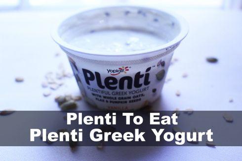 Plenti To Eat Plenti Greek Yogurt