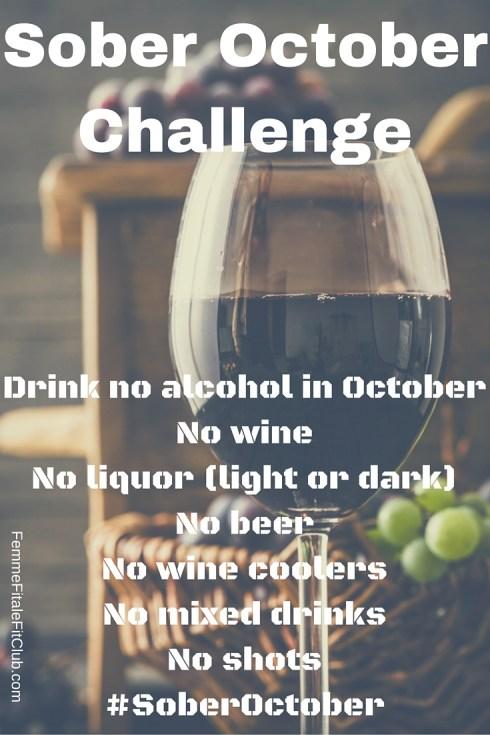 Sober October Challenge