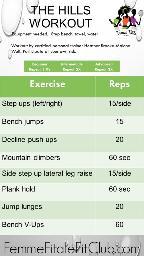 The Hills Workout