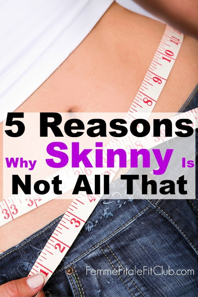 Find out why being healthy is more than a dress or pants size and just because one is skinny doesn't automatically mean they are healthy.  #healthiswealth #healthysize #bodyimage #positivebodyimage #skinny #strongoverskinny #strongvskinny #womenshealth #fitness