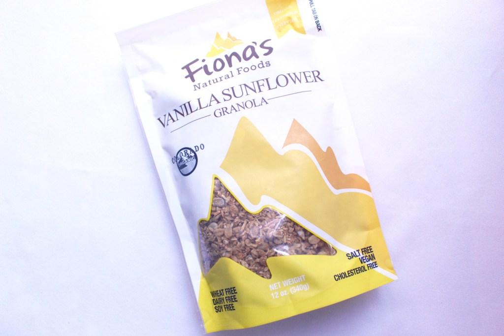 Fionas Granola Vanilla Sunflower