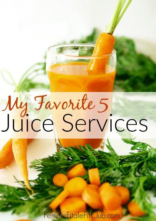 My Favorite Five Juice Services