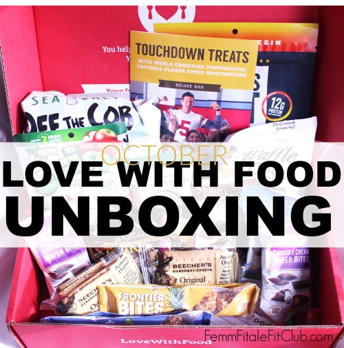 October Love With Food Box cover