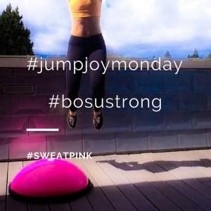 #jumpjoymonday#bosustrong