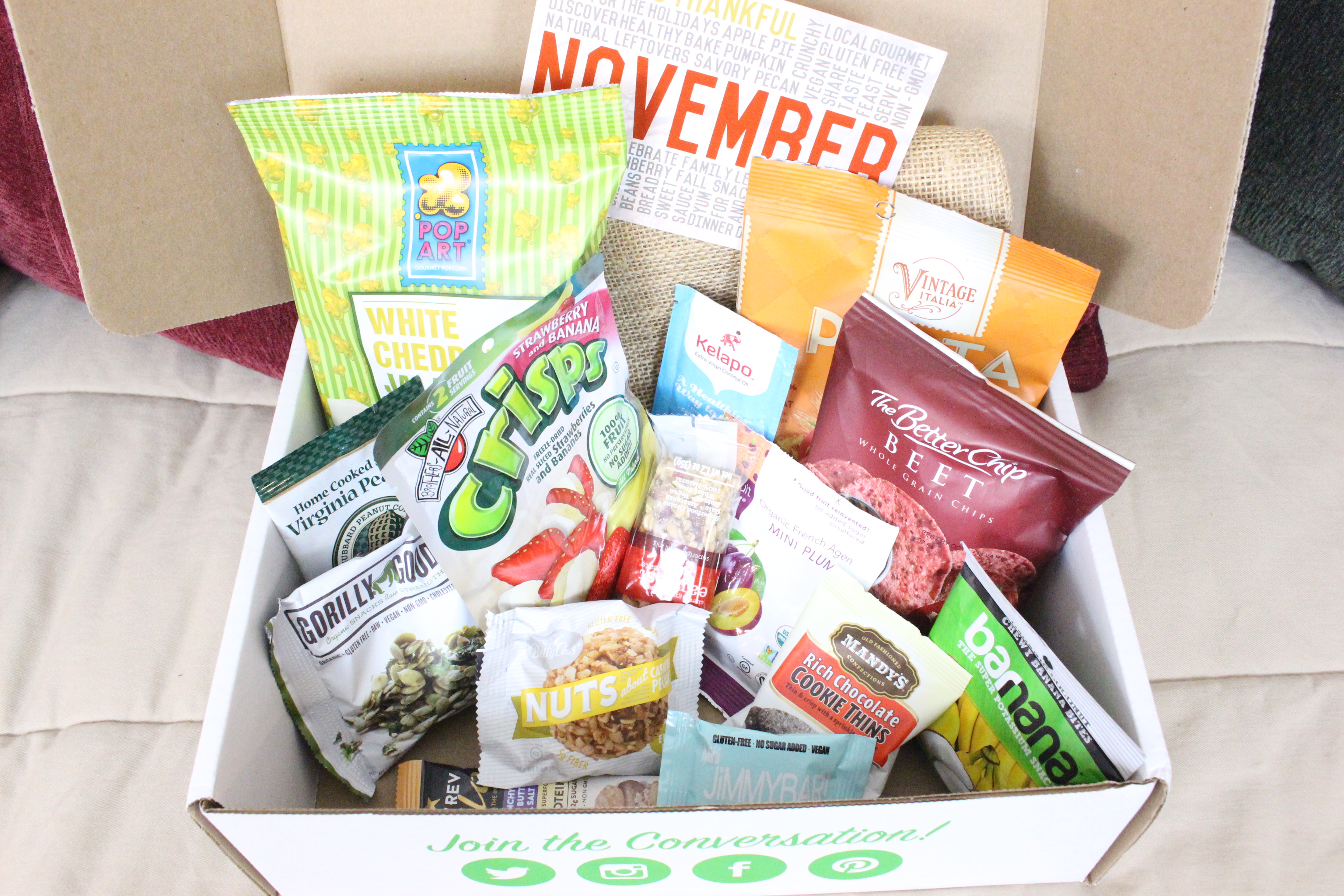 November Snack Sack Box