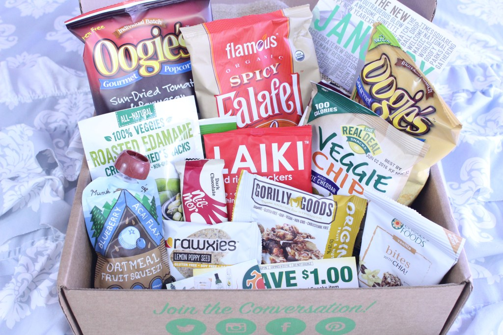 January Snack Sack Box