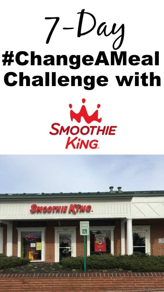 7-Day ChangeAMeal Challenge with Smoothie King