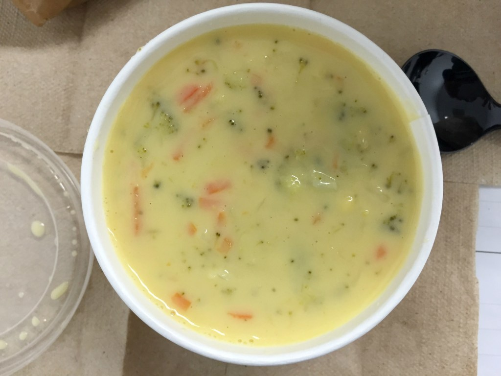 Broccoli Cheddar Soup by Panera Bread