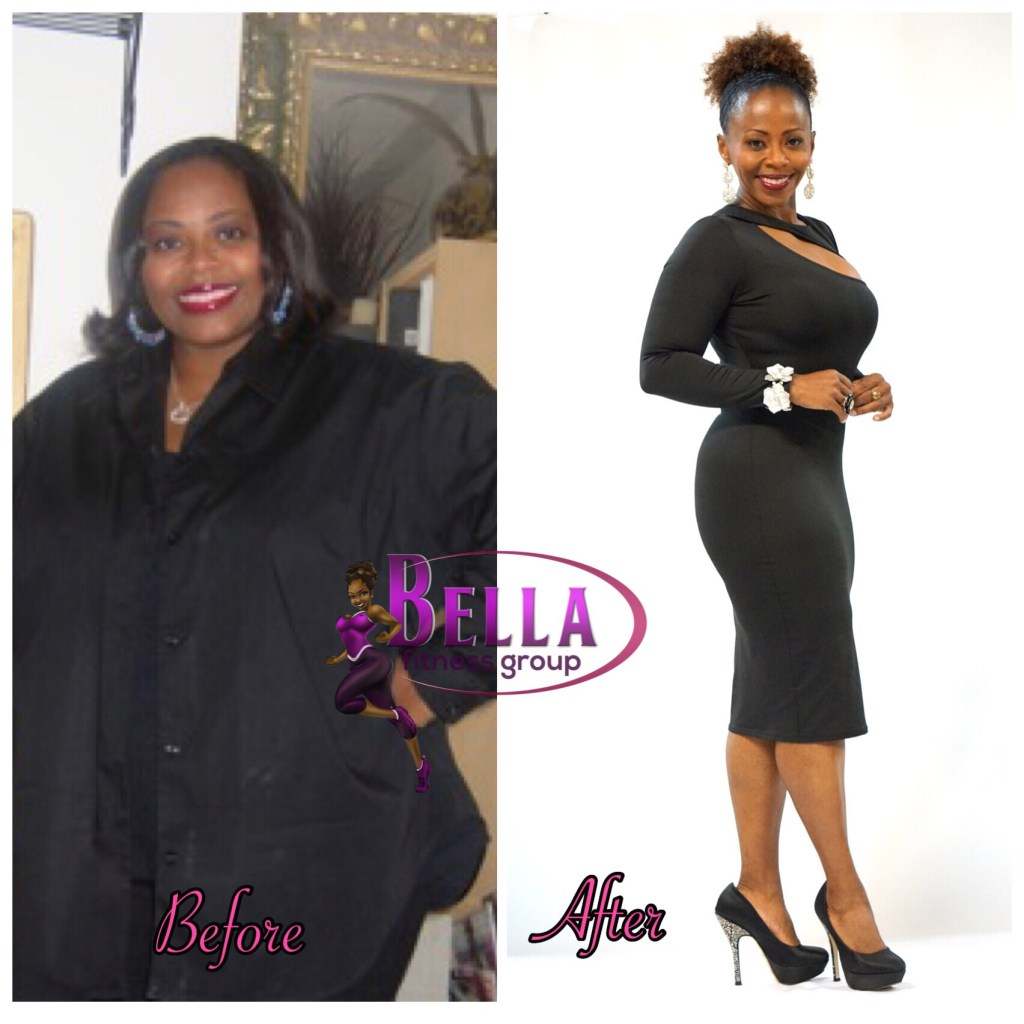 Chaunda Walls of Bella Fitness Group 3
