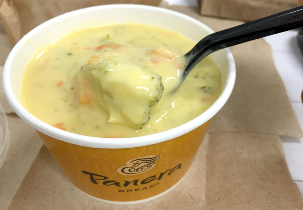 Cheddar Broccoli Soup by Panera Bread