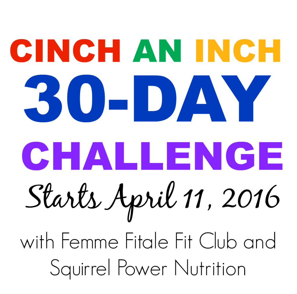 Cinch An Inch Fitness and Nutrition Challenge