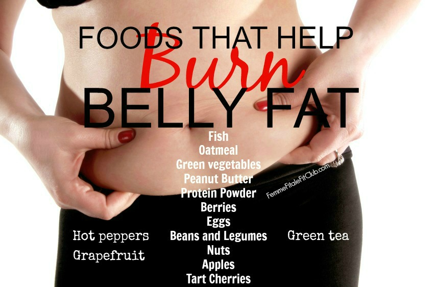 Foods that help burn belly fat