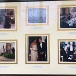 Photo collage in the East Wing