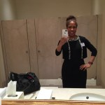 Selfie in the White House bathroom